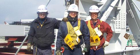 大阪府の鉄骨工事、仮設工事、建設機械、重量工事、再生工事は有限会社小堀組 採用情報