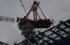 大阪府の鉄骨工事、仮設工事、建設機械、重量工事、再生工事は有限会社小堀組 鉄骨工事