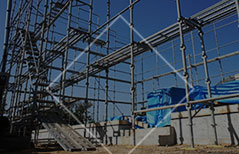 大阪府の鉄骨工事、仮設工事、建設機械、重量工事、再生工事は有限会社小堀組 仮設工事
