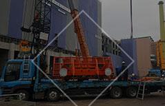 大阪府の鉄骨工事、仮設工事、建設機械、重量工事、再生工事は有限会社小堀組 建設機械