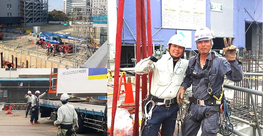 大阪府の鉄骨工事、仮設工事、建設機械、重量工事、再生工事は有限会社小堀組 共に挑戦と成長を楽しめる親近感が湧く会社